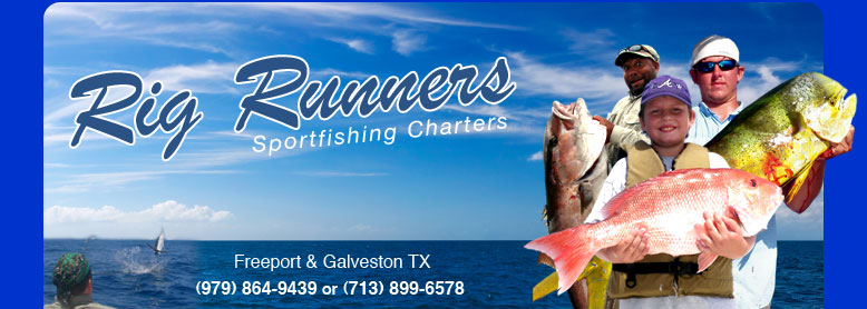 Galveston, Freeport Texas Fishing Charters